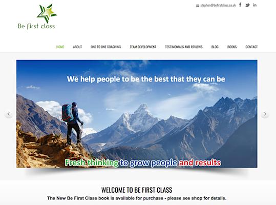 Be-first-class-website