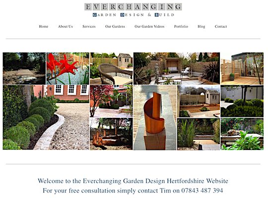 Everchanging-Website